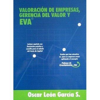 Libro de Valoración de empresas, gerencia del valor y EVA